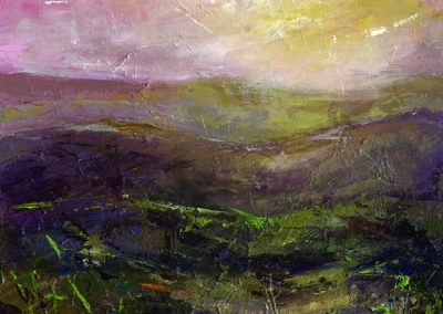Early morning glow, Preseli print Beth Robinson