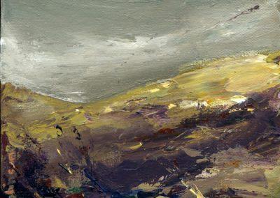 cold day Foel Eryr print Beth Robinson
