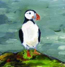 puffin card by Beth Robinson