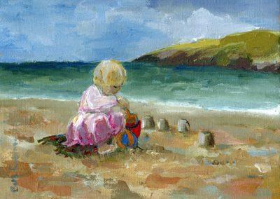 sandcastles print Beth Robinson