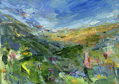 spring sunshine Brynberian print Beth Robinson