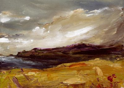towards Strumble from Mathry print Beth Robinson