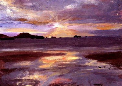 whitesands sunset print Beth Robinson