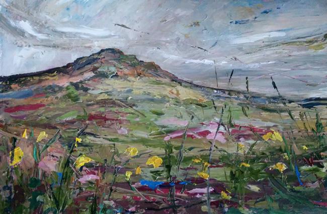 Beth Robinson Carn Ingli (daffodils) £1350