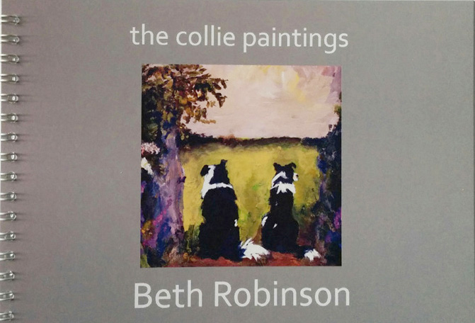 the collie paintings book