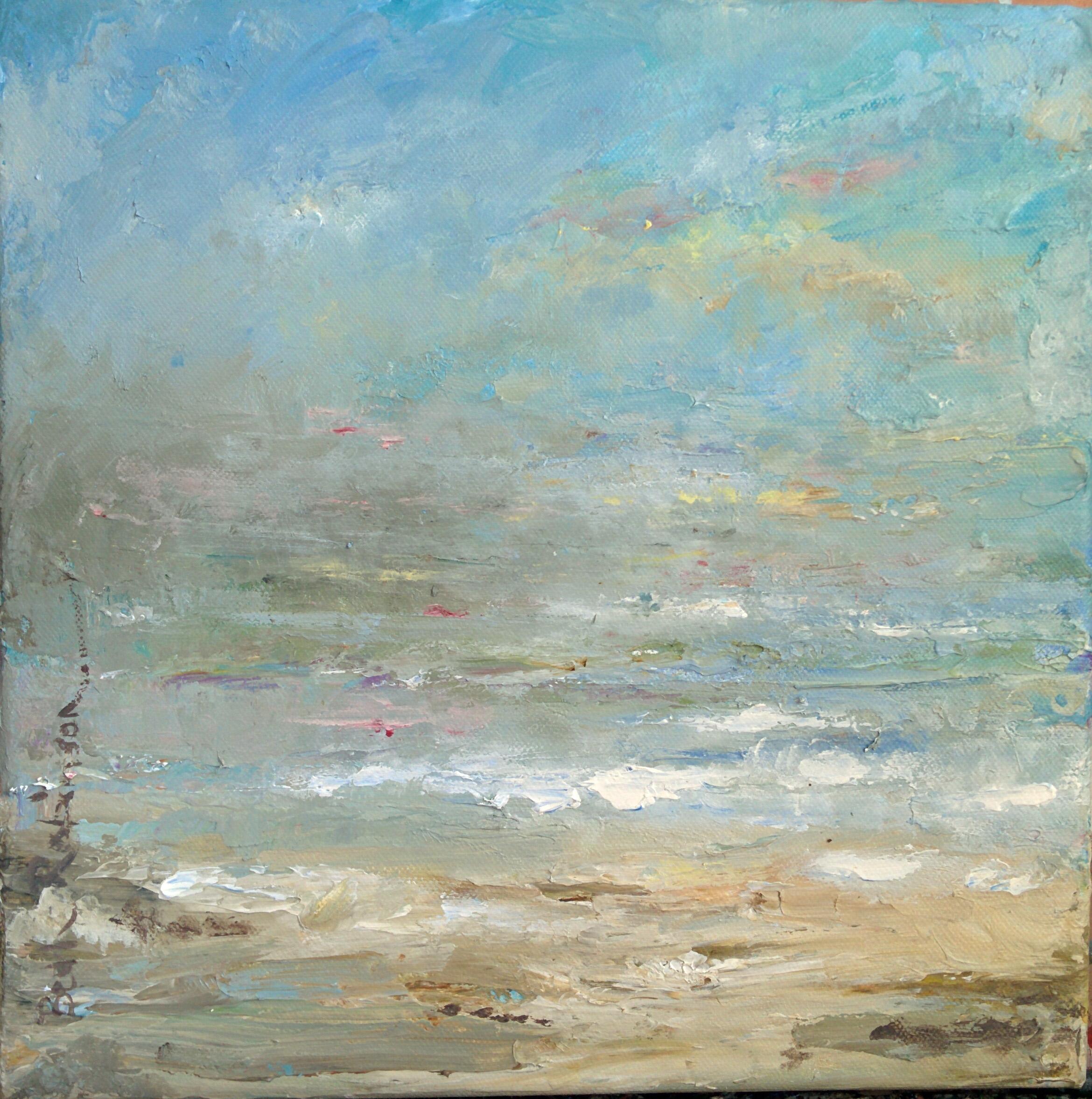 Glimmer of light acrylics on canvas unframed 30 x 30 cm £395