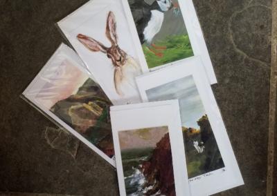 5 assorted DL cards