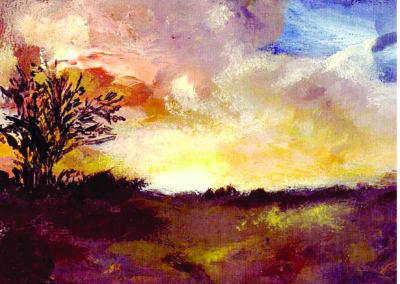 preseli sunset card