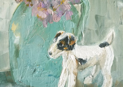 No31 the old pottery dog