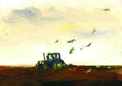 trefin tractor card